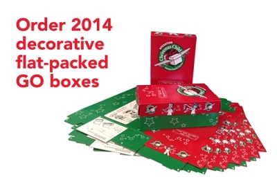 Operation Christmas Child Go Boxes