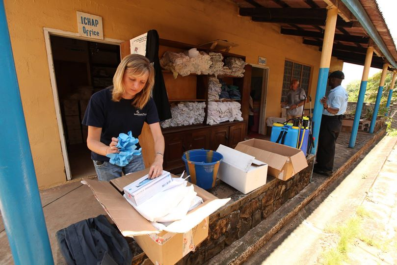 Two more shipments of medial supplies have arrived in Monrovia recently and are being cleared and offloaded now.