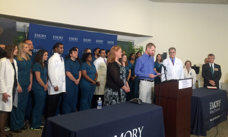 Dr. Kent Brantly Press Conference