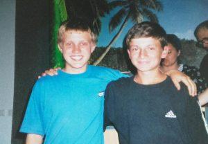 radu-and-josh-aged-14
