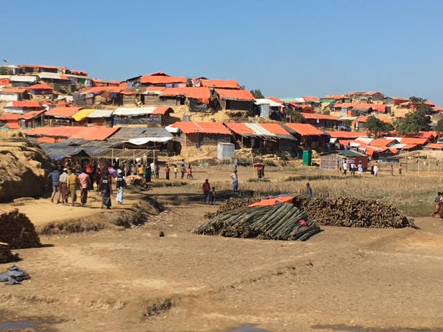 Kutupalong camp in Bangladesh.