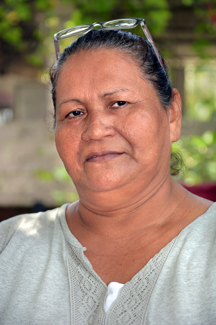 Dina Marques, vice principal of Los Nilos County School in El Salvador.