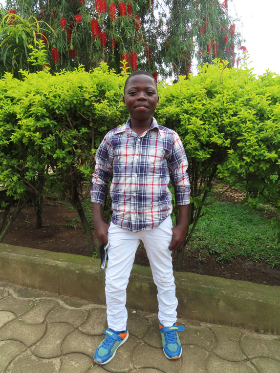 Baraka is excited to be returning home to his family and with a new-found hope experienced through salvation in Jesus Christ.